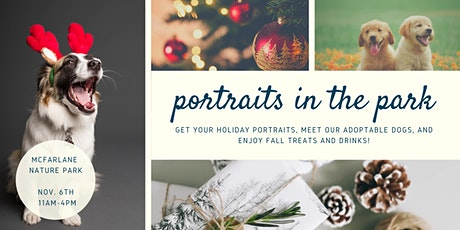 Portraits in the Park - Photos with Santa! tickets