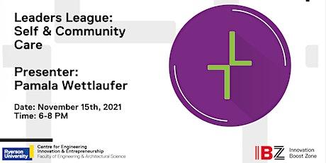 Leaders' League: Self & Community Care tickets