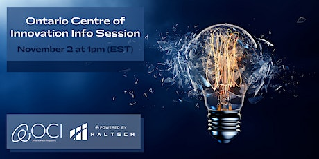 Ontario Centre of Innovation Info Session tickets