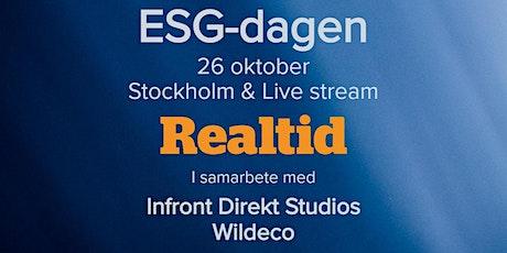 ESG-dagen 26 oktober 2021 tickets