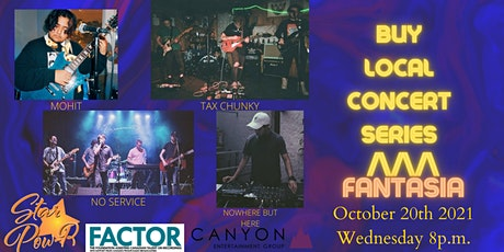 STAR Pow-R 'Buy Local' Concert Series - Fantasia- Donation tickets