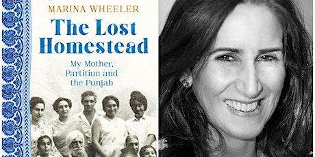 """The Lost Homestead"" - Marina Wheeler LIVE @The London History Festival tickets"