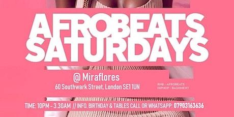 Afrobeats Saturdays tickets