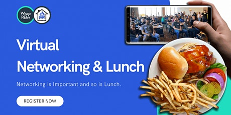 Real Estate Investors' Virtual Networking Lunch and Learn! tickets