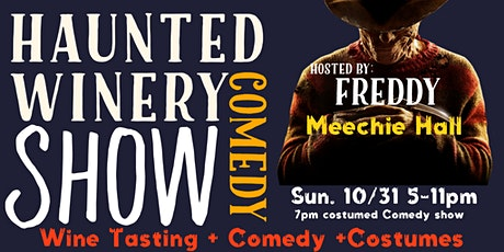 Halloween's Eve I Haunted Winery Comedy Show tickets