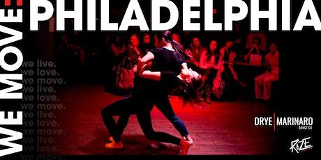 WE MOVE: PHILADELPHIA tickets