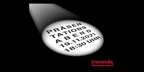 Crescenda Präsentationsabend 2021 Tickets