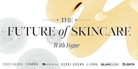 The Future of Skincare boletos