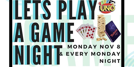 Let's Play a Game Night tickets