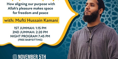 Friday Nights: Mufti Kamani - Content & Purposeful tickets