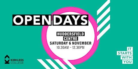Kirklees College November Open Day - Huddersfield Centre tickets