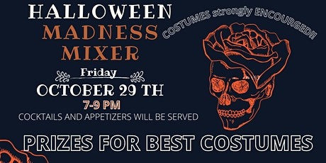 Halloween Costume Madness Mixer Event tickets