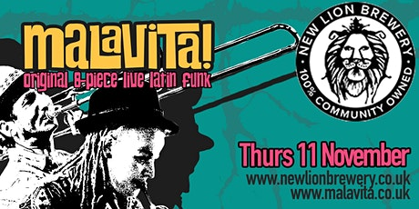 Malavita! Live at the New Lion Brewery tickets