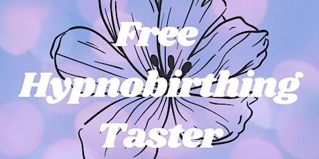 Free Hypnobirthing Taster tickets