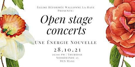 Open Stage Concerts - Une Énergie Nouvelle tickets