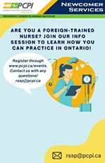 Info Session for Foreign-Trained Nurses to Work in Canada tickets