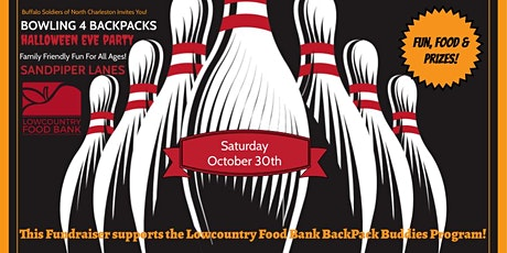 Bowling 4 BackPacks Supporting the Lowcountry Food Bank BackPack Buddies tickets
