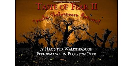 Taste of Fear II tickets