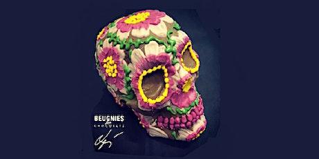 Chocolate workshop CALAVERA  #skull #halloween billets