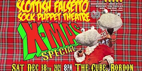 SCOTTISH FALSETTO SOCK PUPPET THEATRE: XMAS SPECIAL tickets