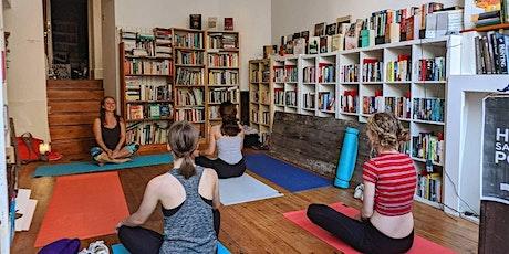Clifton Community Bookshop Yoga Class tickets
