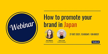 How to promote your brand in Japan tickets