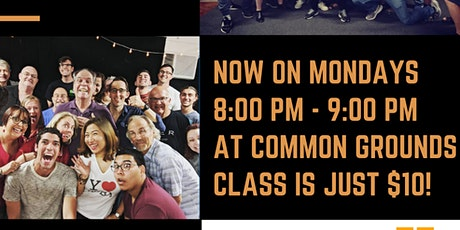 Improv Drop In Class at Common Grounds with Anthony Francis tickets
