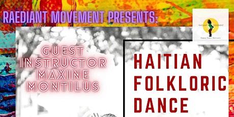 Haitian Folkloric Dance Workshop tickets
