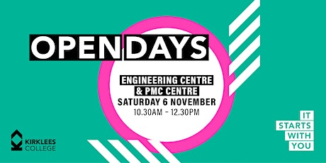 Kirklees College November Open Day - Engineering Centre & PMC Centre tickets