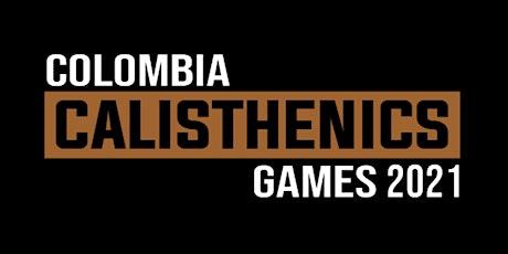 COLOMBIA CALISTHENICS GAMES 2021 entradas