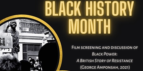 Film Screening: Black Power: A British Story of Resistance tickets