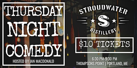 Thursday Night Comedy   Stroudwater Distillery tickets
