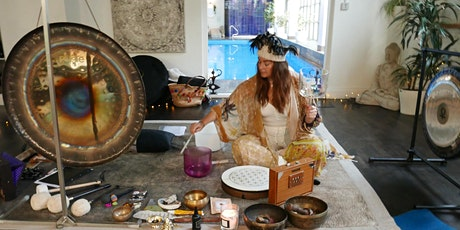 New and Full Moon Live IRL Meditation Sound Bath Ceremonies tickets