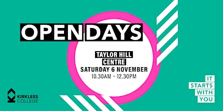 Kirklees College November Open Day - Taylor Hill Animal Centre tickets