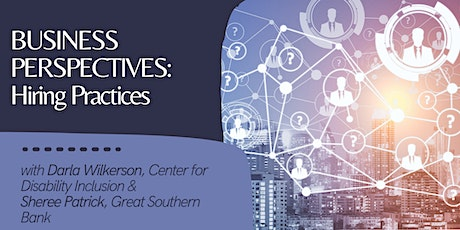 Business Perspectives: Hiring Practices [EMP] tickets