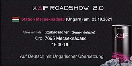 KAIF Roadshow 2.0 tickets