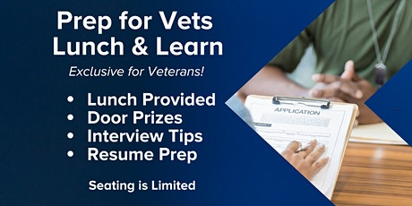 Prep for Vets tickets