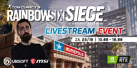MSI x Morrog present: Rainbow Six Siege Livestream tickets