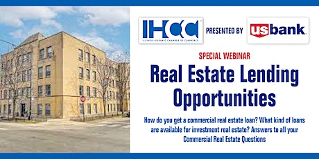 Real Estate Lending Opportunities with U.S. Bank tickets