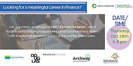 Finance Industry Event with Raymond James tickets