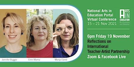 Reflections on International Teacher-Artist Partnership (I-TAP-PD) tickets
