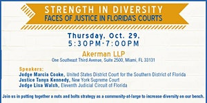 Strength in Diversity -- Faces of Justice in Florida's...