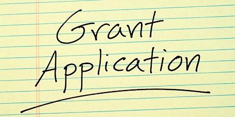Writing winning grant applications tickets