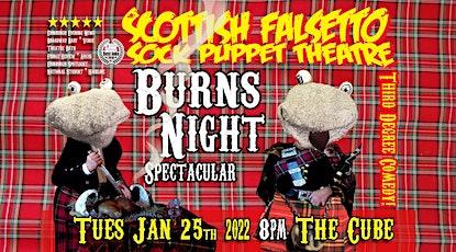 SCOTTISH FALSETTO SOCK PUPPET THEATRE: BURNS NIGHT tickets