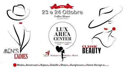 LUX AREA CENTER -  Artigiani in Mostra - Roma,23/24/ottobre 2021 biglietti