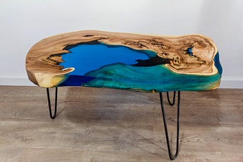 Epoxy Resin River Coffee Table Workshop tickets