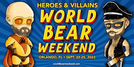 World Bear Weekend 2022: Sponsorships tickets