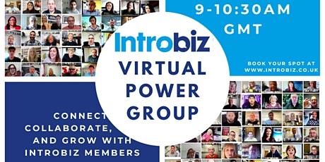 Virtual Power Group Event with Introbiz tickets