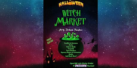 Halloween Witch Market at the Britannia Panopticon tickets
