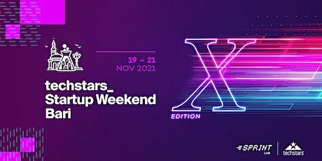 Startup Weekend Bari 2021| X Edition | biglietti